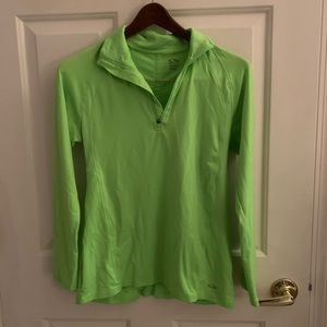 Lime Green Champion Pullover